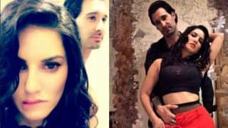 Sunny Leone sexes it up with Daniel Weber for an erotic husband-wife photoshoot! See hot pictures