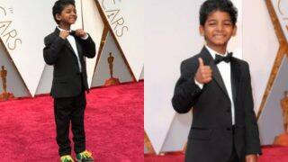 Oscars 2017 Red Carpet: LION star Sunny Pawar steals the show at the 89th Academy Awards 2017 Red Carpet