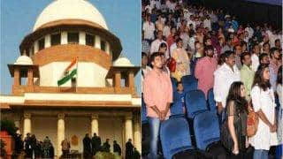 Not in Favour of Making National Anthem Mandatory in Cinema Halls: Centre to Supreme Court