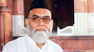 Shahi Imam Maulana Ahmad Bukhari changes allegiance again, appeal Muslims to vote for BSP