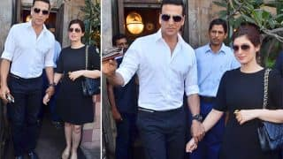 Akshay Kumar and Twinkle Khanna look like SUGAR, SPICE and everything nice on their mid-week lunch date (see HQ pics)