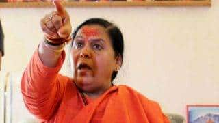 Uma Bharti says can give life for Ayodhya, Tricolour and Ganga; key highlights of her address