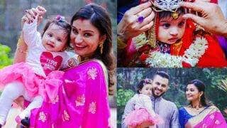 Bigg Boss 8 contestant Dimpy Ganguly's daughter Reanna's family photoshoot makes her look like a royal princess
