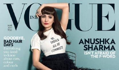 Anushka Sharma on Vogue cover: Phillauri actor makes a fashionable case for feminism as Vogue magazine's latest cover girl
