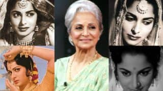 Waheeda Rehman birthday special: Listen to the most melodious songs from her movies!