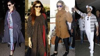 Celeb Airport Style This Week: Deepika Padukone, Sonam Kapoor, Kriti Sanon, Katrina Kaif, Kangana Ranaut and Hrithik Roshan up the style ante!