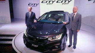 Honda City 2017 facelift drives 9.44 percent growth for Honda in February