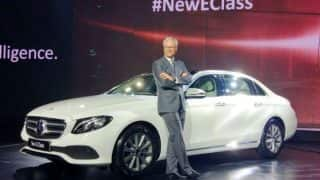 Mercedes-Benz E-Class launched; price in India is INR 56.15 lakh