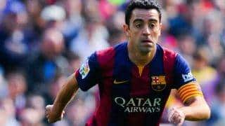 Xavi Hernandez says it is impressive to watch Barcelona