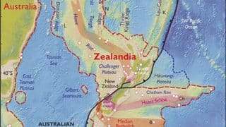 ZEALANDIA is Earth's eighth new continent! Scientists discover 5million square kilometer landmass east of Australia