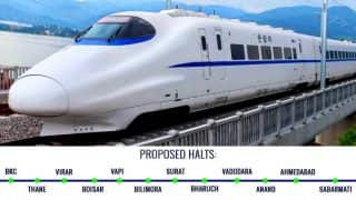 Mumbai-Ahmedabad bullet train: Work for India's first bullet train route begins; all you need to know about the undersea bullet train corridor