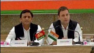 Akhilesh Yadav reveals alliance between SP, Congress happened because of family feud