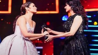 Mahesh Bhatt is proud of daughter Alia Bhatt as she receives an award from Sridevi