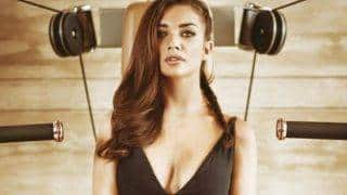 Amy Jackson shares topless picture post phone hack saga!