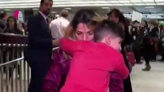 अमेरिकी हवाई अड्डे पर ईरानी मूल के नन्हे बच्चे को घंटों तक रोके रखा