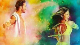 Alia Bhatt Celebrates 3 Years of Badrinath Ki Dulhania in Holi Style | Watch