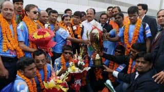 Sports minister announces cash reward for T20 World Cup-winning blind cricket team