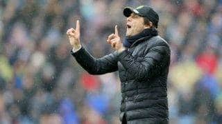 Title race not over yet, any of the top 6 can still win the Premier League: Antonio Conte