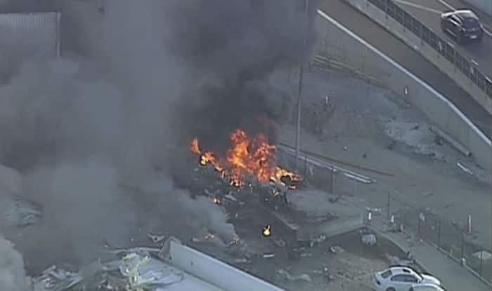 Aircraft crash in australia