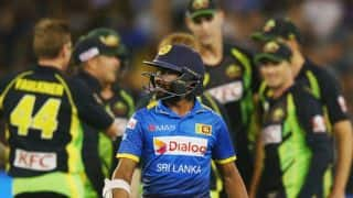 Sri Lanka's Niroshan Dickwella receives two-match ban for another misconduct