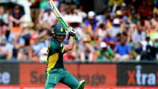 Faf du Plessis dazzles as South Africa post highest total batting first