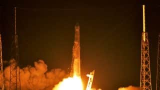 SpaceX successfully launches ISS mission, Falcon 9 lands at NASA's Kennedy Space Center