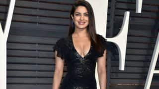 Woah! Priyanka Chopra looks smoking hot in this bold black outfit at the Oscars 2017 after party!