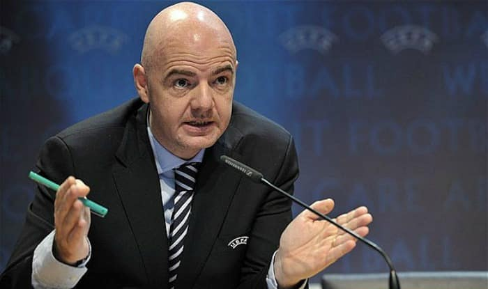 FIFA president Gianni Infantino. (File picture)
