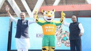 FIFA U-17 World Cup: Sports Ministry distributes footballs to MPs in Parliament