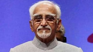 Hamid Ansari Talks About Freedom of Speech in Farewell Address
