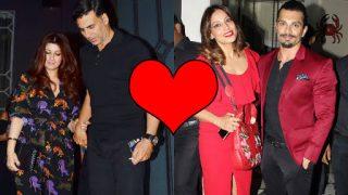 Akshay Kumar-Twinkle Khanna or Bipasha Basu-Karan Singh Grover? Which couple twinned better on Valentine's Day?