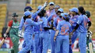 India qualify for Women's WC 2017 as they crush Bangladesh by nine wickets