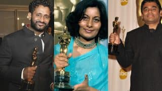 Dev Patel Nominated at Oscars 2017 : 5 Indians who have won the Academy Awards