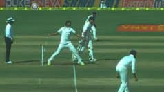 India vs Australia 1st Test 2017: David Warner survives as Jayant Yadav bowls a no-ball. Watch video here