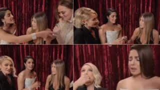 Oscars 2017: Priyanka Chopra and Jennifer Aniston's back stage bonding is the best thing you will see on the INTERNET today (Watch video)