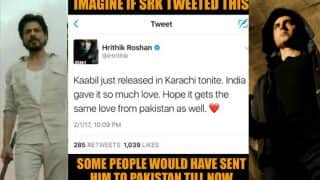 Hrithik Roshan tweets about Kaabil's release in Karachi, this Instagram user has the perfect response!