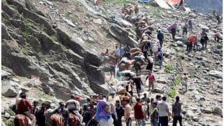 Kinner Kailash Yatra Cancelled Due to Heavy Rainfall, Over 100 Pilgrims Remain Stranded