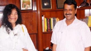 Manipur Assembly elections 2017: Is Arvind Kejriwal eyeing the polls by donating Rs. 50,000 to Irom Sharmila's PRJA?