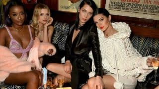 OMFG! Kendall Jenner flaunts her shiny gold teeth