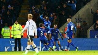 FA Cup 4th-round replay: Leicester City seal an extra-time win over Derby