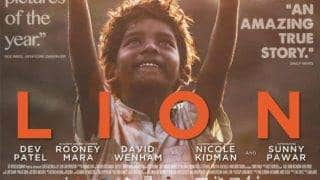 Lion new poster: Sunny Pawar's SAROO makes this Indian poster of Dev Patel starrer more adorable! (See PIC inside)