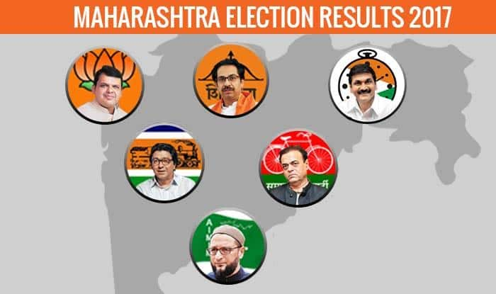 election results 2017 maharashtra