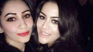 Sanjay Dutt's wife Manyata gets pally with step daughter Trishala Dutt but it is all just a pretense? See pictures