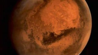 Life on Mars? Patch of land flooded by water in 'recent past', reveals study