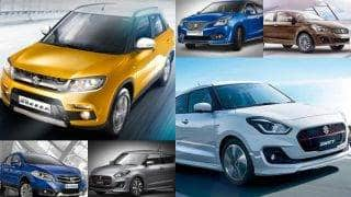 Maruti Suzuki bags 8 slots in top 10 bestselling cars in January 2017