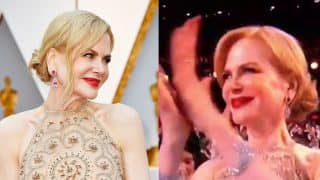 Oscars 2017: After Best Picture goof-up, Nicole Kidman is internet's next meme for her unusual clapping!