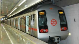 Man crushed to death under Delhi Metro train