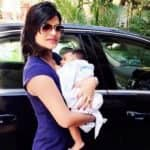 TV actress Mitali Nag looks beautiful as she poses with her baby boy! (View picture)