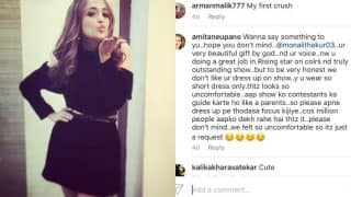 Monali Thakur shuts down troll who commented on her short dress in Instagram picture