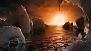 नासा ने ब्रह्मांड में खोजे 7 पृथ्वी जैसे गृह, 3 पर जीवन की संभावनाए